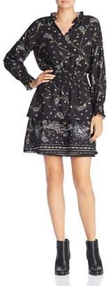 Aqua Paisley Border Print Dress - 100% Exclusive