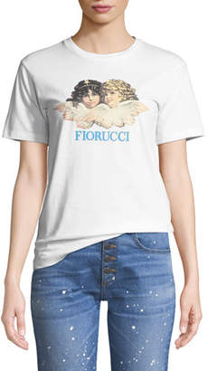 Fiorucci Vintage Angels Graphic Crewneck Tee