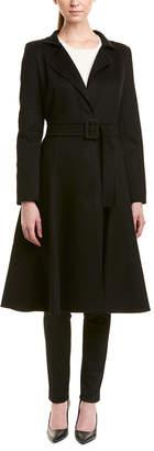 Oscar de la Renta Wool & Cashmere Coat