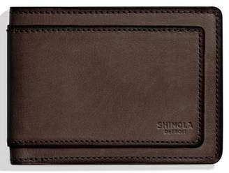 Shinola Outlaw Wallet
