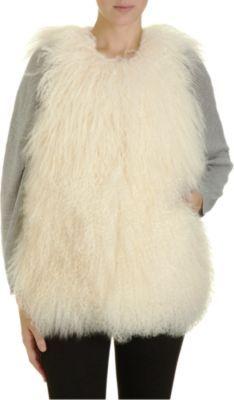 Joie Reversible Fur Vest