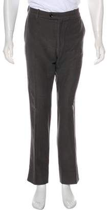 Tom Ford Twill Flat Front Pants