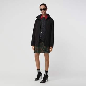 Burberry Tartan Wool Mini Kilt