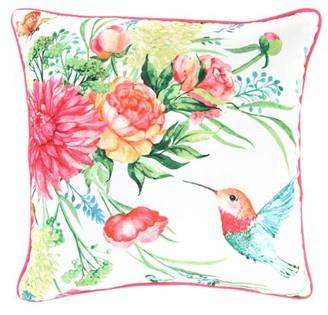 Jordan Manufacturing Humming Bird Decorative Pillow 20x20