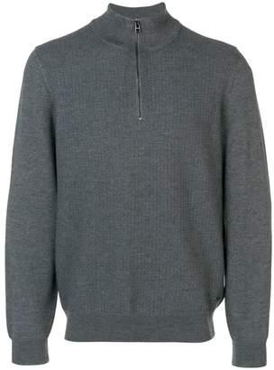 HUGO BOSS front zip sweater