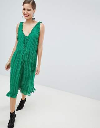 Custom Made Custommade Pretty Dobby Dress