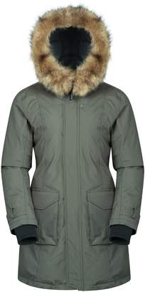 Warehouse Mountain Aurora Women's Down Jacket -Waterproof Ladies Coat