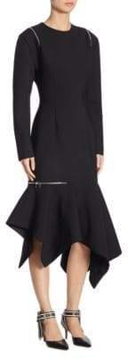Monse Long-Sleeve Zip Dress