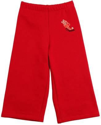 Vivetta Wide Cotton Sweatpants