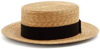 Prada Straw boater hat