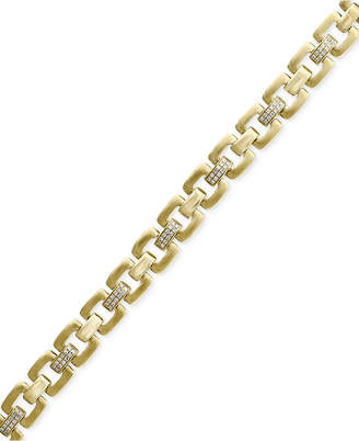 Effy D'Oro by Diamond Link Bracelet (1/2 ct. t.w.) in 14k Gold