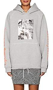 Opening Ceremony Women's Mélange Cotton Terry Hoodie - Gray