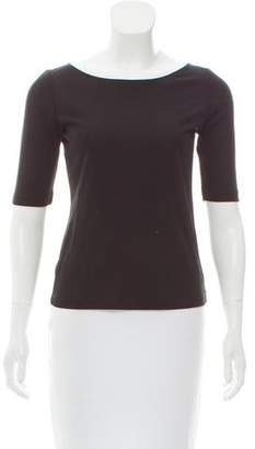 DKNY Scoop-Neck Knit Top
