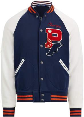 Polo Ralph Lauren Men's Big & Tall Fleece Baseball Jacket