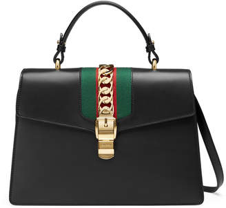 Gucci Sylvie medium top handle bag