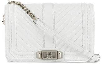 Rebecca Minkoff small Love quilted crossbody bag