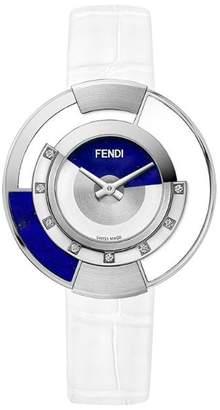 Fendi embellished Policromia watch