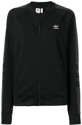 adidas stripe detail track jacket