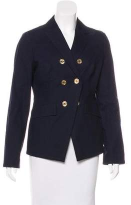 Tory Burch High-Low Button-Up Jacket