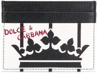 Dolce & Gabbana King print cardholder