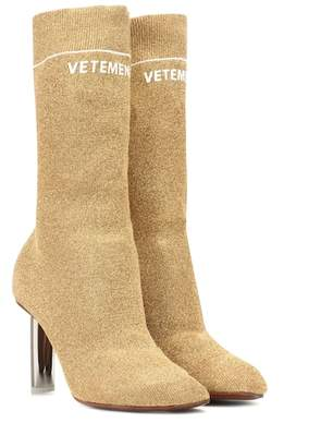 Vetements Lighter-heel Sock ankle boots