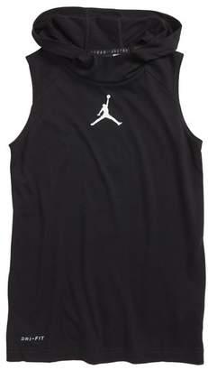 Jordan 23 Alpha Dry Fitted Sleeveless Hoodie