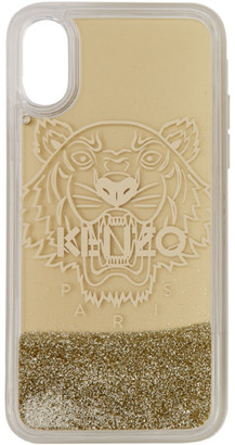 Kenzo Gold Tiger iPhone X Case