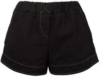 Simon Miller Nyssa Denim Shorts - Dark denim