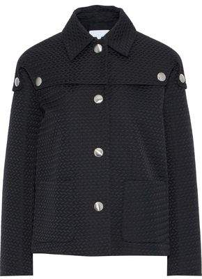 M Missoni Button-Detailed Jacquard Jacket