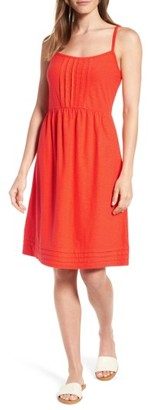 Women's Tommy Bahama Arden Pleat Jersey Sundress $88 thestylecure.com