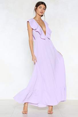 Nasty Gal Deep It Moving Maxi Dress