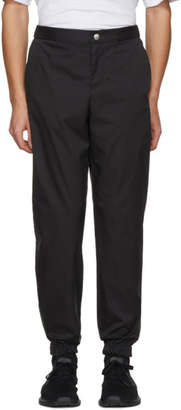 Versus Black Fluo Stitching Trousers