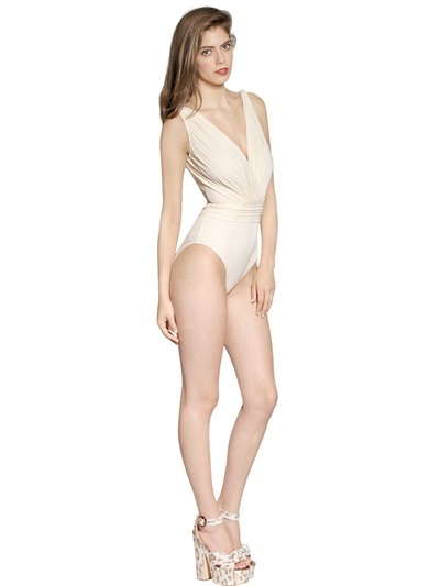 Maria Lucia Hohan Super Soft Stretch Jersey Swimsuit