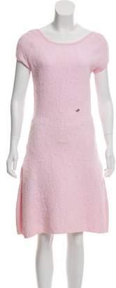 Chanel Matelassé Knee-Length Dress