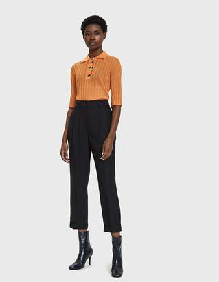 Ellery Sunshine Knitted Polo Shirt