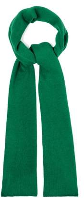 The Elder Statesman Super Duper Cashmere Scarf - Womens - Green