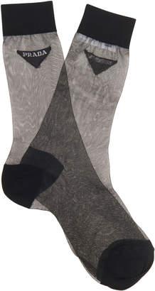 Prada Two Toned Sock