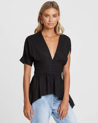 Francis Blouse with Waistband