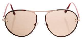 Stella McCartney Aviator Tinted Sunglasses
