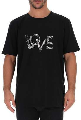 Saint Laurent Love Print T-Shirt