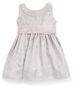 Isabel Garreton Little Girl's Rose Mesh Waist A-Line Dress