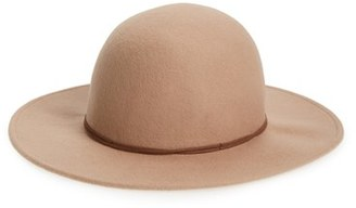 Hinge Wool Round Crown Hat $48 thestylecure.com