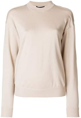 Alexander Wang layered look sweater