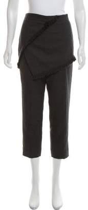 3.1 Phillip Lim Wool Fringe-Accented Pants