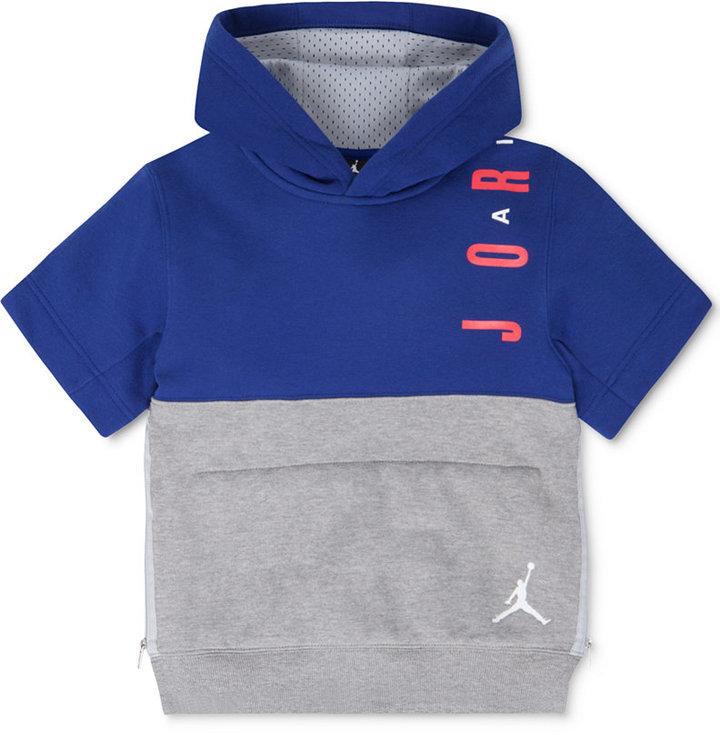 Jordan Little Boys' Short-Sleeve Hoodie