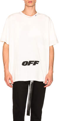 Off-White Off White Wing Off Oversized Tee