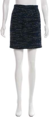 Christian Dior Bouclé Mini Skirt