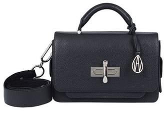 Amanda Wakeley Black Leather Robbie Handbag