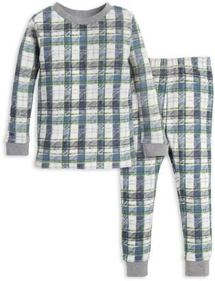 Burt's Bees Cozy Harvest Plaid Organic Baby Pajamas