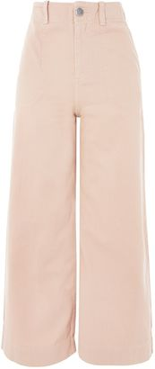 Topshop PETITE Twill Sailor Trousers